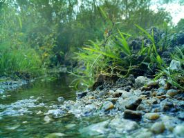 Flowing river by Maverick1508