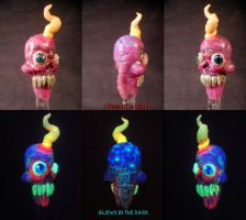 Doobie Dabs Dabber Collab by Kitty Piston and Unde by Undead-Art