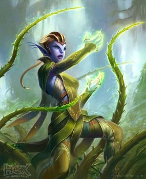 Hex: Root Wrangler by SulaMoon