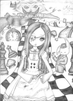 Alice in Horrorland by SummersNeverending