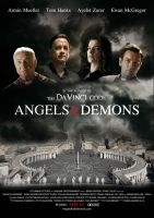 Angels and DEMONS POSTER final by onurb-design