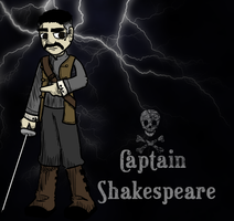 Captain Shakespeare by yarrbunny