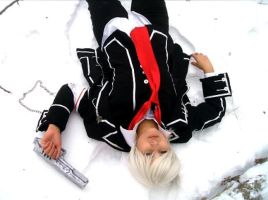 Zero Kiryu:White Like The Snow by snow0storm