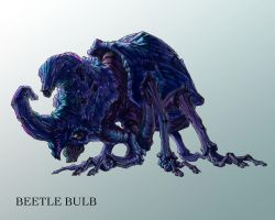 BETTLE BULB by QuinteroART