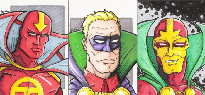 DC Capes and Collars by rustythewonderdog