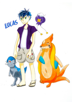 Lucas and Team by LittleAnchovy