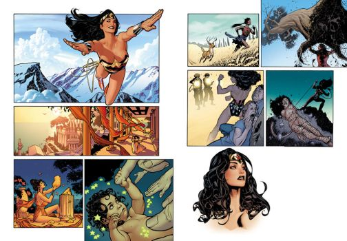 Wonder Woman Origin by AdamHughes