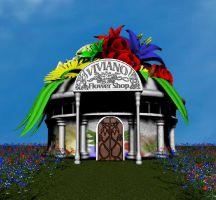 Viviano Flower Shop by sythis