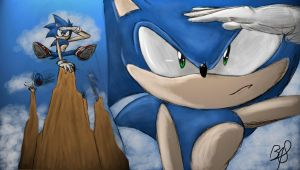 Sonic Boom! Not the Game!  by b1uewhirlwind