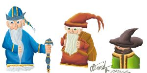 Archive: Two Dwarves + a dude by TheDonQuixotic