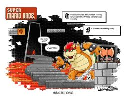 Super Mario Bros: Famous Last Words by BrainslugComics