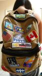 My Travel Backpack by catmi