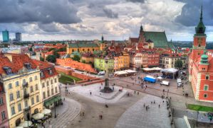 Old Town in Warsaw by MasterMatrox