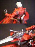 Dante Devil May Cry 3 Detail 2 by ogamitaicho