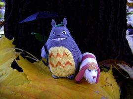 Totoro and Hinn by hontor