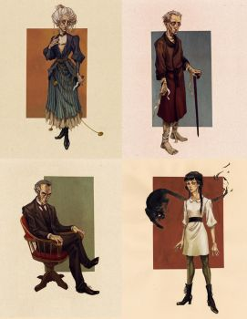 Characters by MadLittleClown