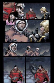 Birds of Prey issue 1 page 4 by ToolKitten