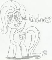 Fluttershy - Element of Kindness by Laffy372