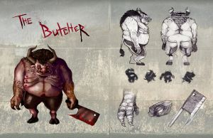 The Butcher Character by MikaF
