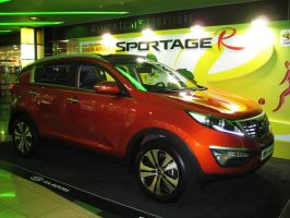 This is the NEW Kia Sportage by toyonda