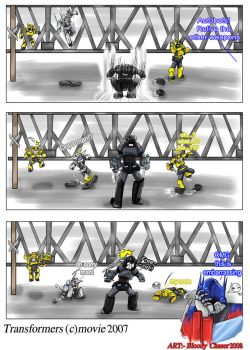 behind the scene 2_TF Movie by BloodyChaser