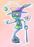 where's my money, ho? by jimmytherobot