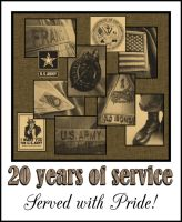 20 Years of Service by LadyAutumnDesigns