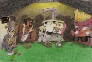 Adult Swim Poker Night by Dattebayo681