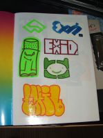 Stickers Book 02 by Ex1D