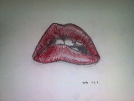 Rocky Horror Picture Show Lips by XitsXkillingXmeX