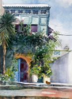 Eccentric Residence, Tunisia by MargauxB