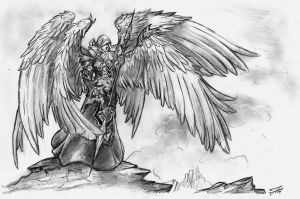 Angel-Warrior by chillerofhell