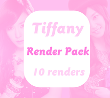 Tiffany (SNSD) | Render Pack 2 by AnnaByun