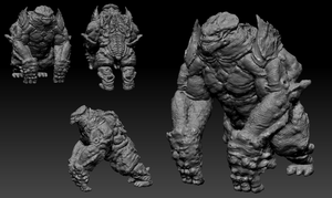 Zbrush Leatherback ver.2 by Zerox-II