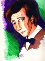 The Eleventh Doctor Marker Picture by GlyphBellchime