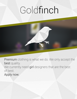 Goldfinch Poster by R3pix