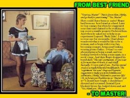 TG caption: From Best Friend to Master (A) by p-l-richards