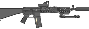 3rd assault rifle by COLT731