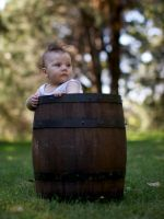 The small barrel preserves the best wine by EyeOfBoa