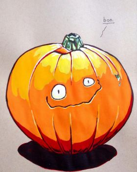 Pumpkin by Mythical-Man