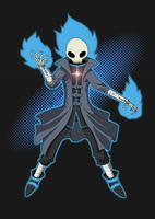 Skull Mage by AtokNiiro