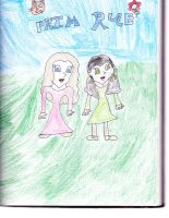 Prim and Rue by OryanSparrow