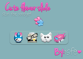 Skin for xwidget Slide Flower by Isfe