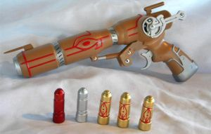 New Outlaw Star Caster Gun by aBlindSquirrel