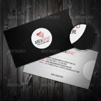 Black and White Business Card by ARphotography-design