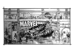 Marvel Retail Store Design by Eyth