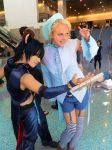 Ikuto's fan service at AX Costumer 1 by HACKproductions
