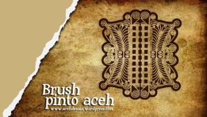 brushes pinto aceh by batatx