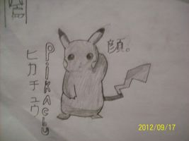 Pikachu Drawing! :3 by ZairoNishijima