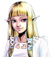 Lady of Hylia by starchiishio